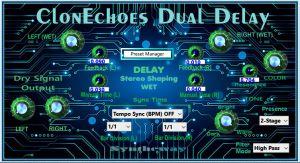 ClonEchoes Dual Delay