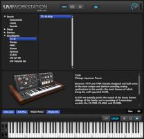 UVI CS-M in UVI Workstation 2.0.8