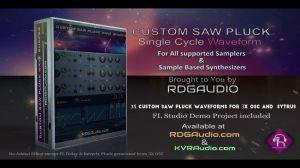 Custom Saw Wave Shape Sample Pack