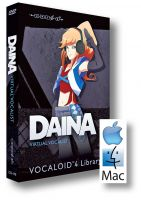 Daina Vocaloid4 Library - MacOS Version