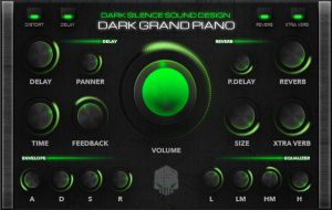 Dark Grand Piano for Kontakt