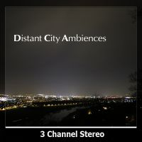 Distant City Ambiences sound library