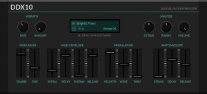DDX10 FM Synthesizer