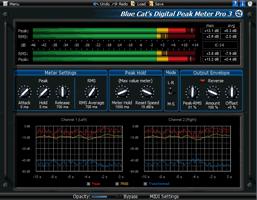 Blue Cat's Digital Peak Meter Pro