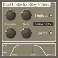 Dual Linkwitz-Riley Filters