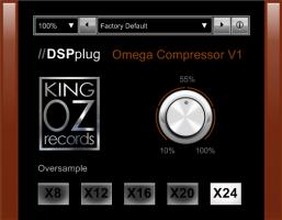 DSPplug omega compressor