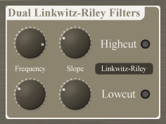 Dual Linkwitz-Riley Filters