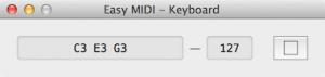 Easy MIDI