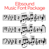 Elbsound Music Fonts Package