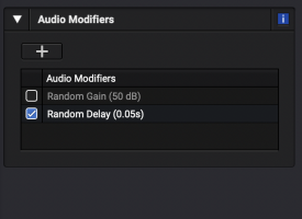 Random Audio Modifiers