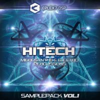 Hitech Microsynths and Electro Percussions sample pack Vol.1