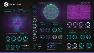 Eplex7 Particle Collider SX7 - hybrid scientific synthesizer
