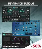 Psytrance bundle: Spherum FX synthesizer +Hitech Bass HBS1 plugin + Psytrance EFX Pro instrument
