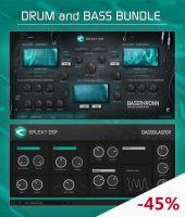 DnB bundle: Bassthronn synthesizer + Bassblaster effect