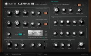 Klerhaim N1 analog plugin synthesizer