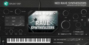 Rave synths & leads 1 plugin instrument