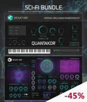 Sci-fi bundle: Particle Collider SX7 synthesizer + Quantakor instrument