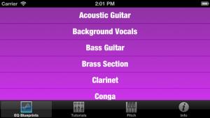 Mix Buddy - many instruments with EQ Blueprints