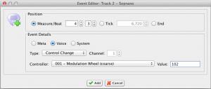 Event Editor (Mac)