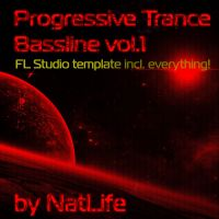 Progressive Trance Bassline vol. 1 (FL Studio all in one template)