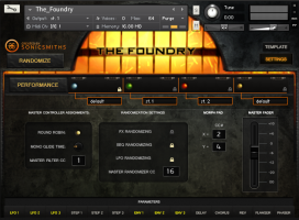 The Foundry Settings