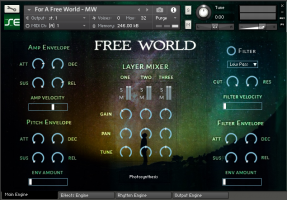 Free World for Kontakt 5