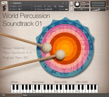 World Percussion Soundtrack Front
