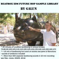 Beatbox Drums and Loops Future Hop Idm Sample Library by Galun