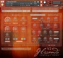 Glissando Harps for Kontakt