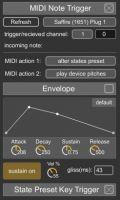 Generative MIDI Note Trigger