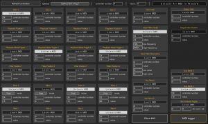 Generative MIDI Window