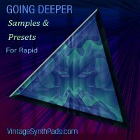 Going Deeper Presets for Rapid Synthesizer