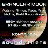 Granular Moon