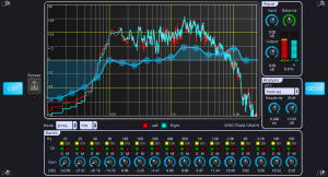 LSP Grafischer Entzerrer x32 Stereo - Graphic Equalizer