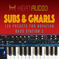 Subs & Gnarls Bass Station 2 Preset Pack