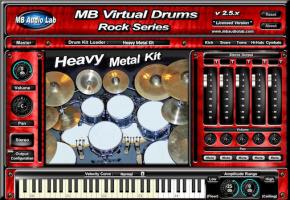 MB Virtual Drums Rock Series