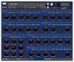 Hypernova Polyphonic Synthesizer