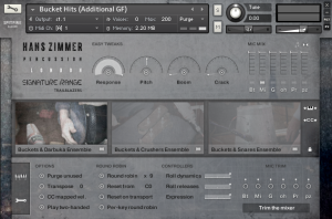 Hans Zimmer percussion HZ01