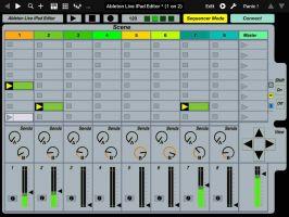 Ableton Live iPad Editor