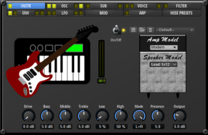 Synth Vintage Guitar W