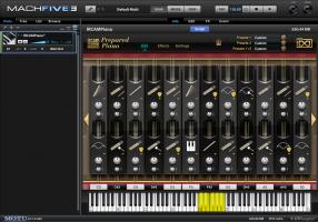 IRCAM Prepared Piano | MachFive 3 view