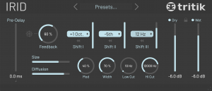 Tritik Irid User Interface