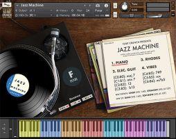 12-Bit Crunch 'Jazz Machine' for NI Kontakt updated to v1.1