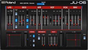 Roland JU-06 VST Midi Editor / Remote