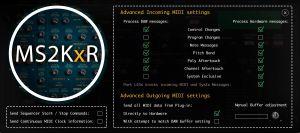 MS2KxR Editor