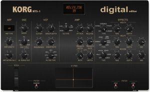 KORG NTS-1 Editor - Soundbank -VST and Standalone
