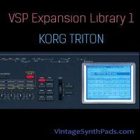 VSP Expansion Library 1 For Korg Triton VST