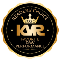 Favorite DAW for Performance - Best Audio and MIDI Software - KVR Audio Readers' Choice Awards 2020