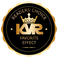 Favorite Virtual Effect Processor - Best Audio and MIDI Software - KVR Audio Readers' Choice Awards 2020