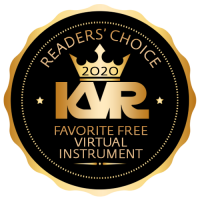 Favorite Free Virtual Instrument - Best Audio and MIDI Software - KVR Audio Readers' Choice Awards 2020